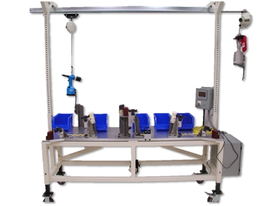 Semi-Automated Assembly Machine